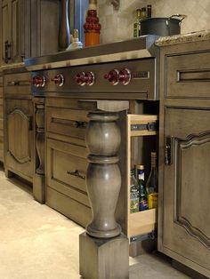 Tuscan Kitchen...I think I like the grey.