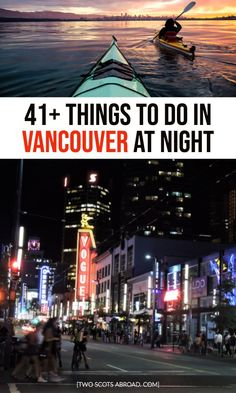 Things to do in Vancouver at Night [All Year Round] Stanley Park Vancouver, Vancouver Travel, Downtown Vancouver, Vancouver Food, Vancouver Vacation, Vancouver British Columbia, Vancouver Island, Seattle, Montreal Canada