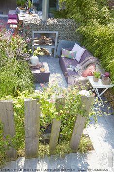 Design: Jacqueline Volker – www.lifestyleadviseur.nl 2011. Photos: Frans de Jong Urban Garden, Backyard, Small Garden, BBQ, Lounge, Contemporary.