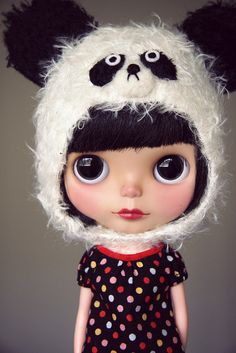 Panda, Dolls, cute doll, for girls, girly, kawaii, dollie, dolly, toys for girls,
