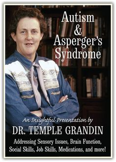 Tons of helpful info on autism, sensory issues, neurological differences and more all explained by Temple Grandin herself!