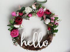 Floral Wreath, Wreaths, Album, Handmade, Home Decor, Corona, Hand Made, Decoration Home, Room Decor