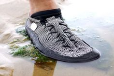 CAYMARO BLACK - anything, anywhere! Universally like no other! #chainmailshoes #paleos at our nwe website: http://gost-barefoots.com/en/