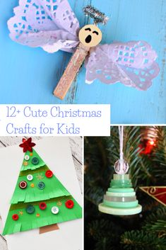 So many cute Christmas crafts for kids to make at the school holiday party! There are even some great DIY Christmas ornaments. #diy #christmas #ohchristmastree #christmastree #christmasdecor #farmhousestyle #farmhousechristmas #farmhouse #kids #christmasdecorating #momlife #christmasparty #schoolparty