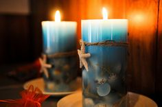 Beach wedding candles- By the sea by Scott in Corrales, via Flickr