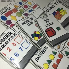 What basic math skills should you teach FIRST? Here is what I focus on in my Autism Classroom