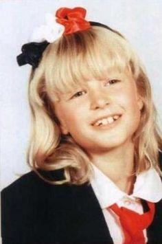 Paris Hilton childhood photo