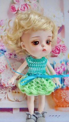 Free Shipping  4 Pcs Clothes for 1/8 BJD Doll Secretdoll - Mong