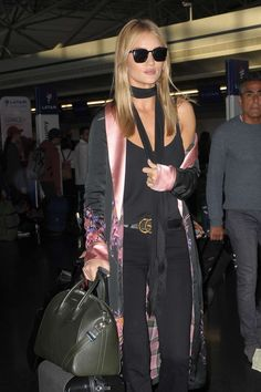 """Rosie at JFK airport in New York City on October 17 """