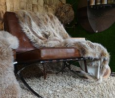 """Ski House Trend- Mountain Modern, """"Luxe Lodge"""" on www.CourtneyPrice.com if we can just keep the dogs off the furniture!"""