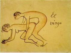 "Pablo Picasso: ""El Virgo"", Barcelona,  [January~Late-October]/1902 [~1903]."