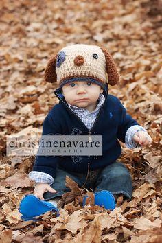 Baby Boy Puppy Hat  Custom Order by ValariesCrochet on Etsy, $24.95