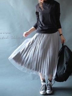 スカートを履いて出かけよう!必見、マネしたくなるスカートコーデ☆ 9280e427a