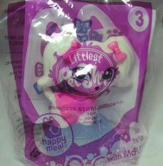 McDonald's 2014 Littlest Pet Shop Princess Stori Jameson Toy #3