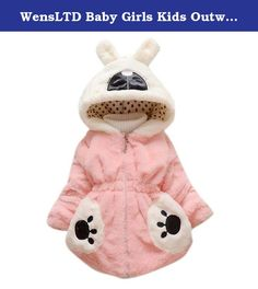 """WensLTD Baby Girls Kids Outwear Clothes Winter Jacket Coat Snowsuit Clothing (5T, hot pink). 100% Brand New And High Quality Fabric Type: Cotton Style:Occident Suitable for season: Autumn winter Clothing Length:Regular Sleeve Length:Long Sleeve Thickness: Thick Gender:Baby Girl Item Type: Outerwear & Coats Package include:1PC Girl Coat Size:2T Label Size:6 Bust:64cm/23.6"""" Sleeve:30cm/11.8"""" Length:40cm/15.8"""" Height:100CM Size:3T Label Size:8 Bust:68cm/26.8"""" Sleeve:33cm/12.9""""…"""
