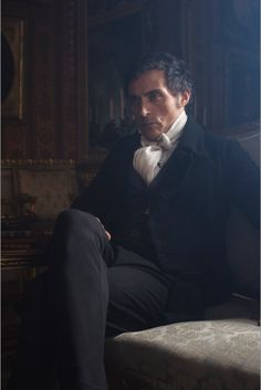 Rufus Sewell as Lord Melbourne. Unit still by Gareth Gatrell.