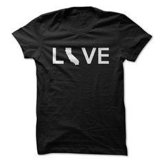 Awesome Tee California Love Shirt; Tee