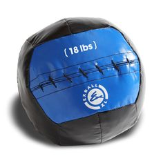 Medicine balls with give so you can slam them into the ground and not get hit in the face when it bounces back up