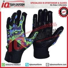 Baseball Batting Gloves > All sizes and colors are available on customers demand. > Baseball Batting Gloves made up of Artificial leather, Neoprene and 4 ways stretch spandex. > Rubber logo, strap with velcro. Welcome to order. Email: export@iqteamuniform.com iq.teamuniform@gmail.com Web: www.iqteamuniform.com #baseball #gloves #baseballglove Baseball Gloves, Batting Gloves, Artificial Leather, Sportswear, Spandex, Logo, Colors, Fashion, Moda