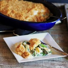 Asparagus and Eggs in Mornay Sauce