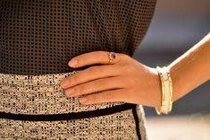 Moonstone Ring - June Birthstone Ring - 7 1/2 / 14k Solid White Gold