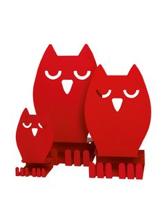 Owl Display Stand- Louise Hederström #owl #Bookend #stand