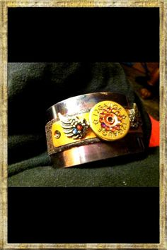12 Gauge Winged  Bullet Cuff Bracelet by a local #Reno artist. $65.00, via Etsy.