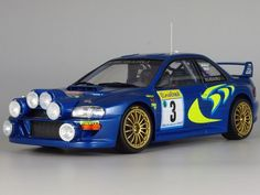 1/24 SUBARU IMPREZA WRC '98 Monte Carlo