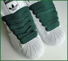 46ebbe1d03c Shell toes with the fat laces Old School Adidas Shoes