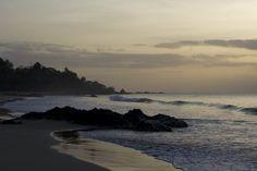 Sunset at Black Rock, Tobago