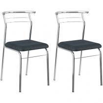 Cadeira em Aço 2 Peças Móveis Carraro Contemporânea 1708