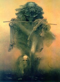 Zdzislaw Beksinski. I really love this artist.