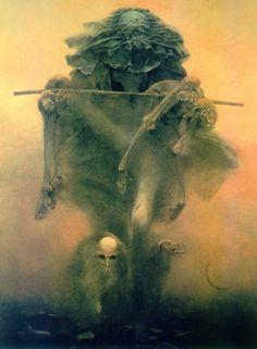 Zdzislaw Beksinski. I really love this artist.