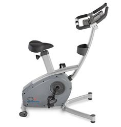 The C3i Upright Bike is a superb residential exercise bike well suited for normal cardio workout. This indoor exercise bike comes in a very descent price of $1,299.00 and attractive warranty. It has features like comfortable and adjustable seat, Quiet Durable drive system, a heart rate monitor for measuring your heart beats etc.