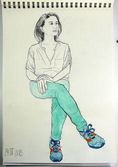 Vanessa Magali, Conservadora de arte contemporáneo.