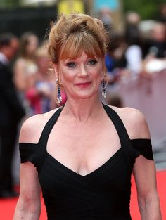 Samantha Bond Miss Moneypenny Bond Girls, S Girls, Samantha Bond, Downton Abbey Season 6, Ireland Wedding, Thing 1, Bridesmaid Hair, Bridesmaids