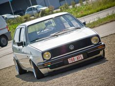 Old Classic Cars, Modern Classic, Volkswagen Golf Mk2, Mode Of Transport, Mk1, Dream Cars, Porsche, Sailing, Vehicles