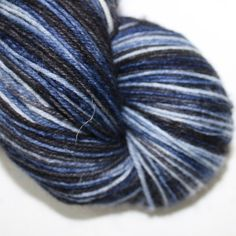 4ply British wool and nylon in Stormy Sky