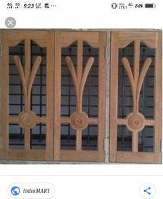 House Arch Design, Room Door Design, Tv Wall Design, Window Design, Modern Wooden Doors, Wooden Main Door Design, Building Elevation, Samsung Mobile, Window Shutters
