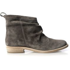 Jigsaw Icon Ankle Boot ($190) ❤ liked on Polyvore featuring shoes, boots, ankle booties, botas, zapatos, flats, grey, grey short boots, grey ankle boots and gray booties