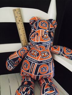 Auburn Tigers Bear by RADBears on Etsy, $8.00