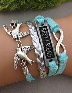 bracelet1pcs  infinity handmade bracelet.metal by 4seasonscreation, $3.99