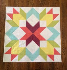 GO! Designer Star Quilt Pattern by Lee Monroe, second place winner of the 4th Annual Barn Quilt Design Competition! #accuquilt