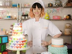 Katy Perry's new music video has cakes, cakes and more cakes! http://greatideas.people.com/2014/04/14/katy-perry-birthday-video-cakes/