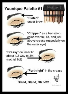 Younique Moodstruck Addiction Eyeshadow Palette #1 How to create this look.  Purchase your palette from www.youniqueproducts.com/kirstyjashforth today!