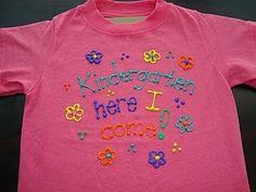 Last Day of School T-shirt Tutorial