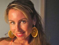 Real Orange Slice Earrings  Real Fruit Jewelry by RealFruitJewelry, $28.00