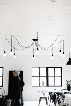 cluster of pendant bulbs spider - Google Search
