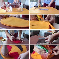 DIY   Como fazer almofada de emoji