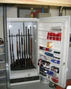 .Try this with a very cool vintage fridge.